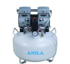 Oil Free Dental Air Compressor 0.75 HP 38 L