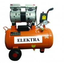 Oil Free Dental Air Compressor 0.75 HP 24 L
