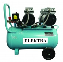 Oil Free Dental  Air Compressor 1.5HP 50L