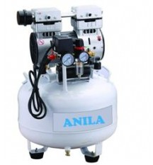 Oil Free Dental Air Compressor 1 HP 38 L